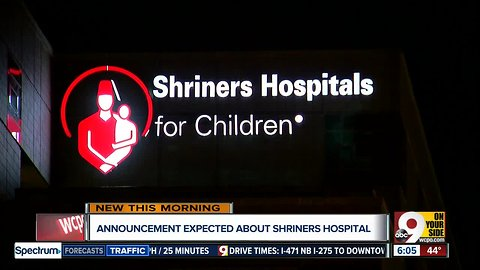 Will Shriners Hospitals for Children move to Dayton?