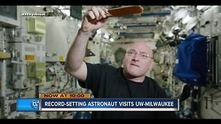 Astronaut Scott Kelly inspiring next generation in Milwaukee - Video