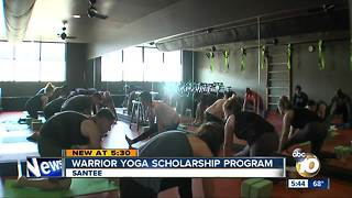 Wounded Warriors learn to teach yoga