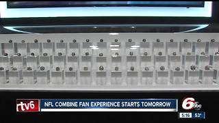 Ultimate NFL Combine Experience opens Thursday in Indianapolis - Video