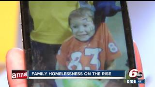 3,000 children homeless in Indianapolis - Video