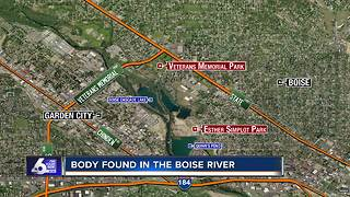 Body Found in Boise River Near Veterans Memorial Park - Video
