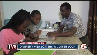 Diversity Visa Lottery allows families to live American dream - Video