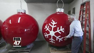 Silver Bells in Downtown Lansing Get a Facelift