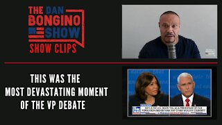 This Was The Most Devastating Moment Of The VP Debate - Dan Bongino Show Clips