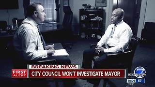 Denver City Council won't investigate sexual harassment claims against Mayor Michael Hancock - Video