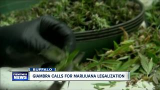 Giambra calls for legal weed