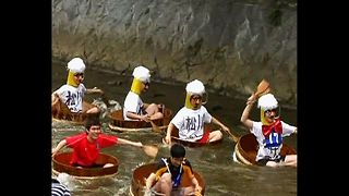 Japanese Tub Race - Video