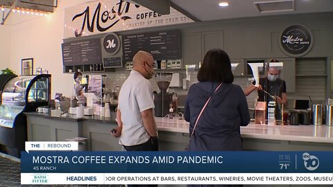 Mostra Coffee expands amid pandemic