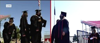 UNLV graduates get to celebrate with in-person commencement