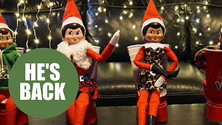 Are these the most original Elf on a Shelf posts of 2017?