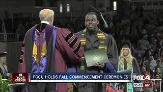FGCU holds fall commencement ceremonies