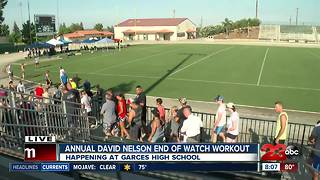 3rd Annual David Nelson End of Watch Workout - Video