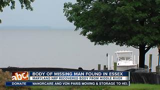 Body found, taken out of river in Essex - Video