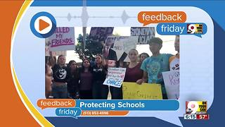 Feedback Friday: Protecting kids in school