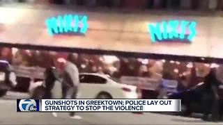 Two shootings in downtown Detroit have DPD taking action with some business owners - Video