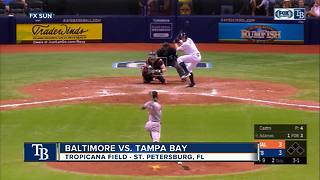 Willy Adames hits solo home run with two outs in 9th inning, Tampa Bay Rays top Baltimore Orioles - Video