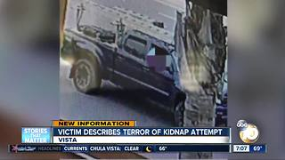 kidnap victim tells of attack - Video