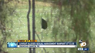 Lawsuit says rampant sexual harassment at country club - Video