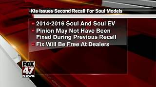 Kia recalls Souls in US for second time - Video