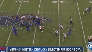 Western Kentucky, Memphis selected to third annual Boca Raton Bowl - Video