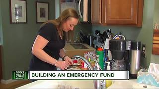 No emergency fund? Mom shows how to fix that - Video