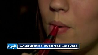 Eight Milwaukee-area teens hospitalized with lung damage from vaping