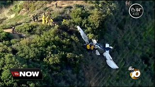Pilot killed, passenger trapped for hours in Oceanside-area plane crash