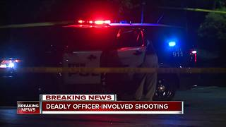 Officer-involved shooting in downtown Akron leaves one dead - Video