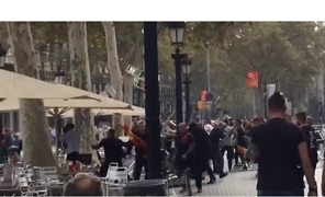 Protesters Clash in Barcelona as Spain Celebrates its National Day - Video