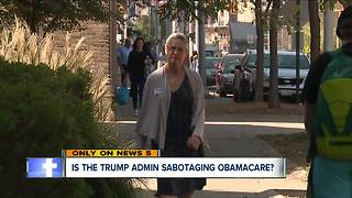 Critics accuse Trump of undermining Obamacare after cuts, scheduled website shutdown - Video