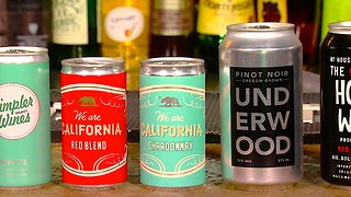 Taste Testing 4 Popular Canned Wines with a Sommelier - Video