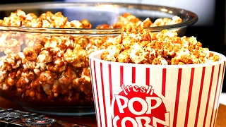 Bacon Bourbon Caramel Popcorn - Video