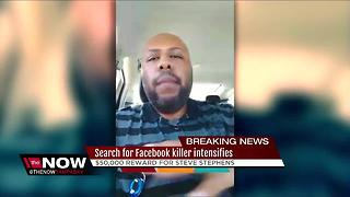 Search for Facebook killer intensifies - Video