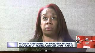 Woman arraigned on murder charges, accused of killing coworker in trailer - Video