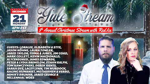 Red Ice Yule Stream 2020