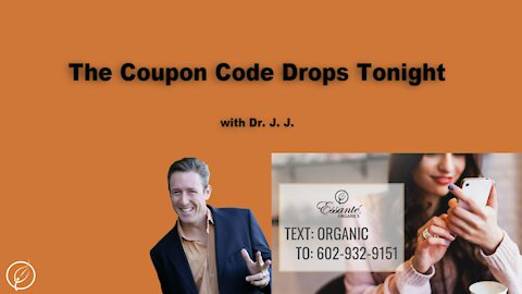 The Coupon Code drops Tonight!!!
