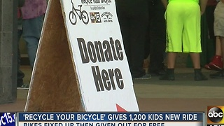 Recycle Your Bicycle event in Scottsdale - Video