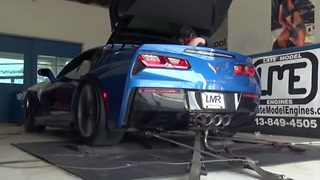 World's highest horsepower C7 Corvette - 1121whp - Video