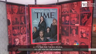 Time Magazine Unveils Its 2017 'Person of the Year' - Video
