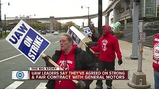 UAW, GM reach tentative agreement on new contract after weeks of striking