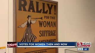 Votes for women then and now