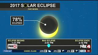 Eclipse viewing tips for Southwest Florida - Video
