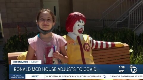 The Ronald Mcdonald house making adjustments during this time of social distancing