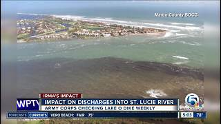 Impact of Lake Okeechobee discharges already having impact on St. Lucie Estuary - Video