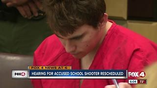 Parkland school shooter, Nikolas Cruz, court day rescheduled - Video