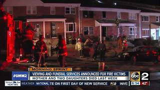 Funeral announced for children, mother killed in Baltimore house fire - Video