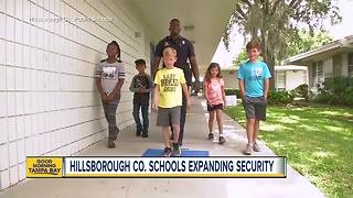 Armed first responders in Hillsborough schools - Video