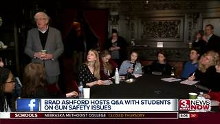 Congressional candidate Brad Ashford holds Q&A with students on gun violence - Video