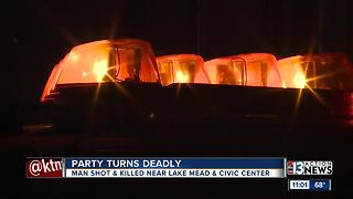 1 dead after shooting at party in North Las Vegas - Video